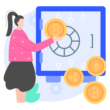 Bitcoin Safe Illustration
