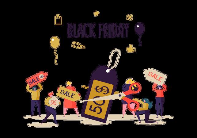 Black Friday offer Illustration