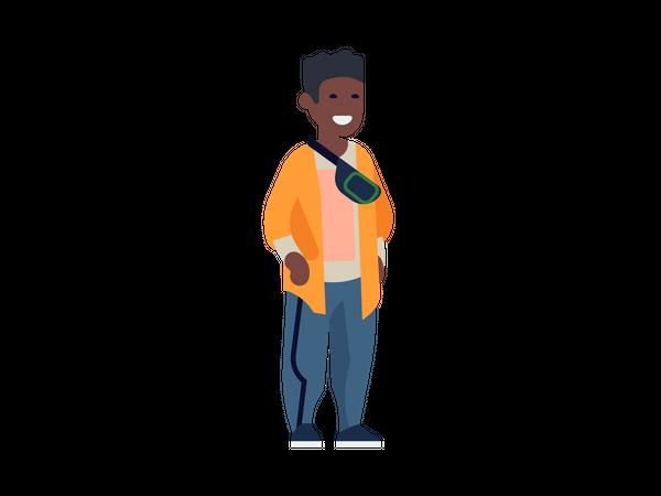 Black man Illustration