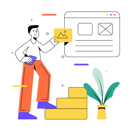 Blog analysis Illustration