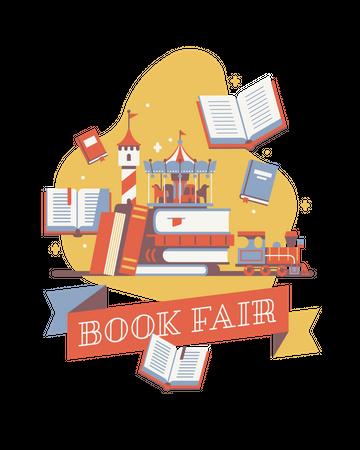 Book fair Illustration