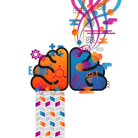 Brain Function Illustration