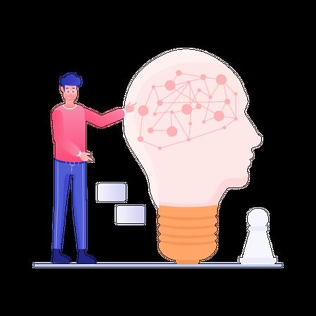 Brainstorming Illustration