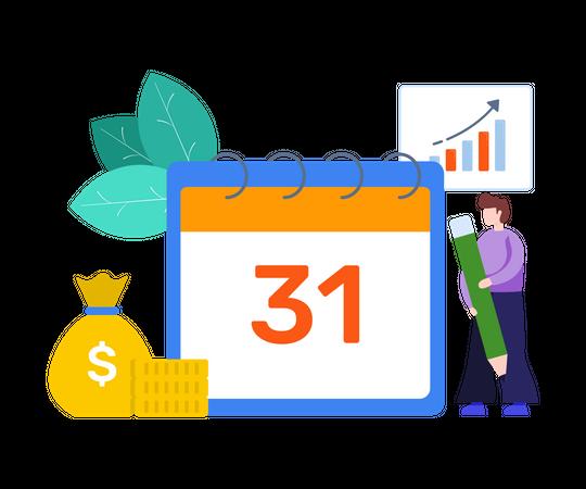 Budget Planner Illustration