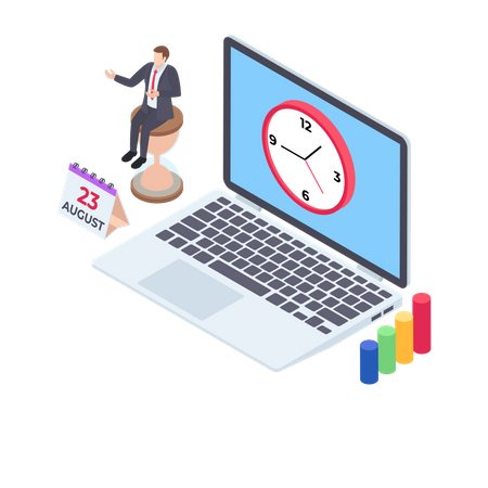 Business appointment Illustration