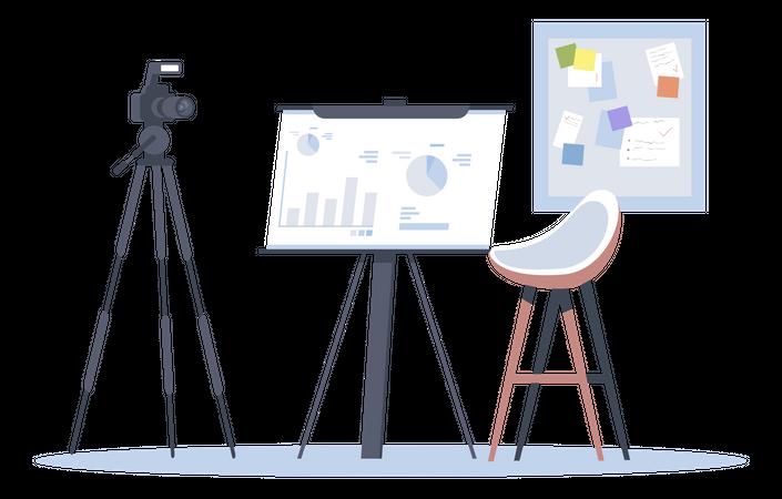 Business blog Illustration