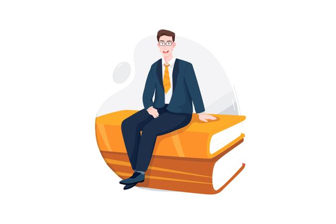 Business Book Illustration