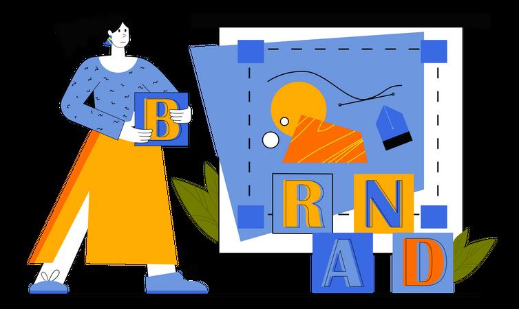 Business Branding Illustration