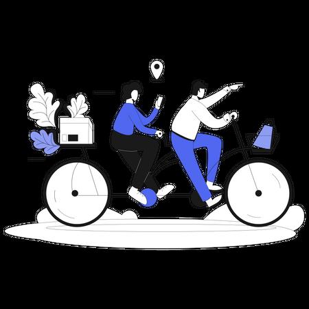 Business Companion Illustration