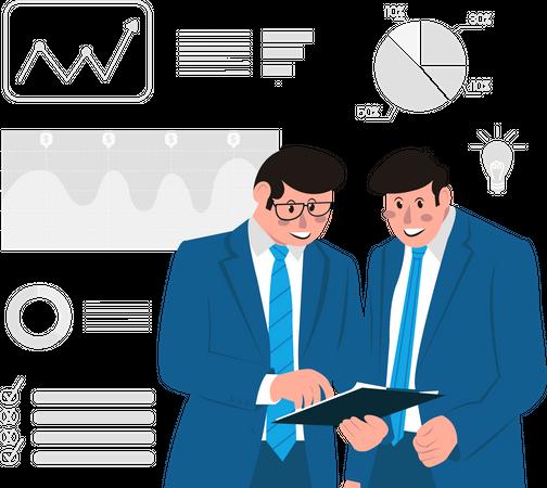 Business Conversation Illustration