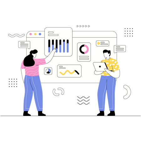 Business Data Analytics Illustration