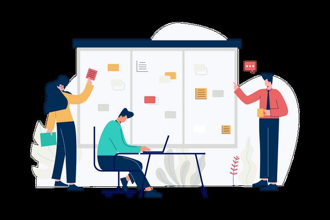 Business development Illustration