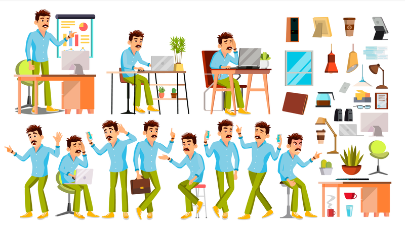 Business Environment Illustration