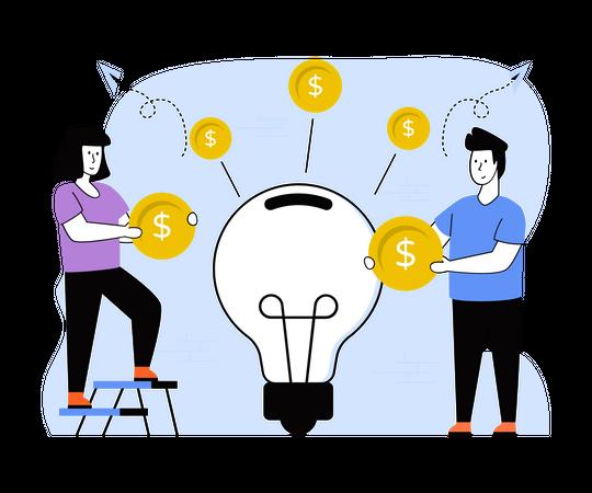 Business Idea Illustration
