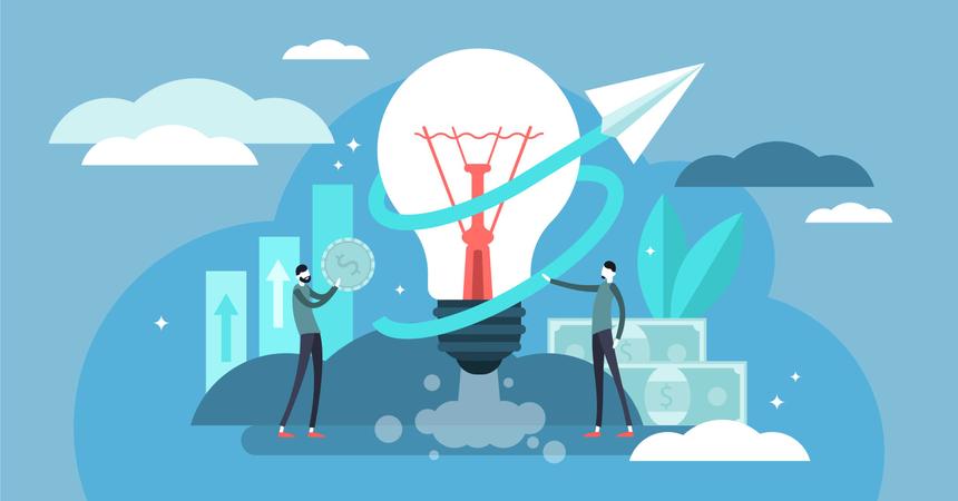 Business ideas Illustration