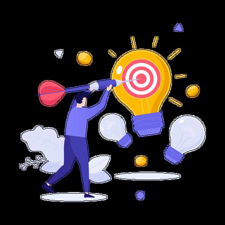 Business innovation Illustration
