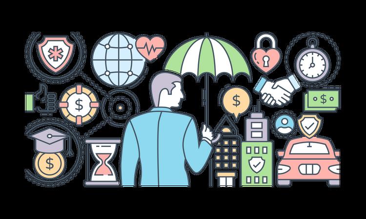 Business Insurance Illustration