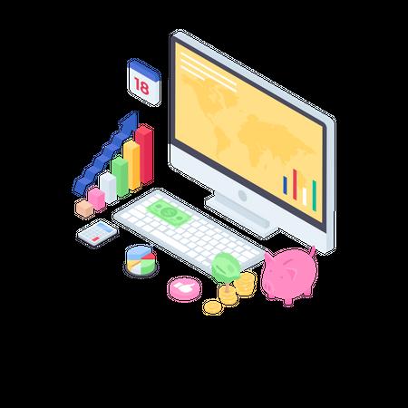 Business Investment Illustration