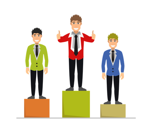 Business leader Illustration