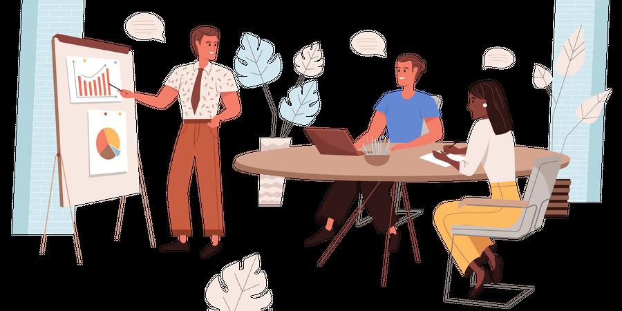 Business Leadership Illustration