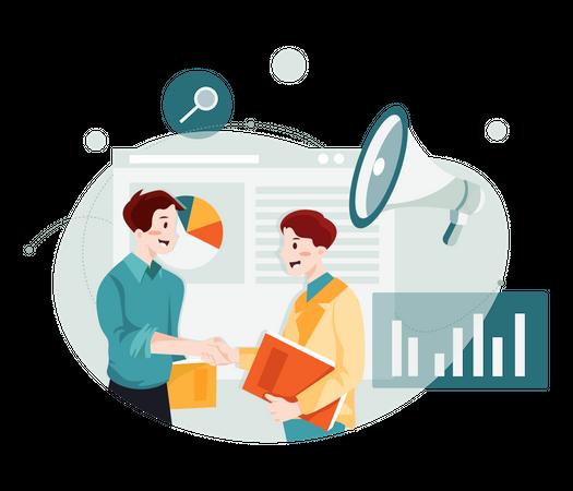 Business Marketing Illustration