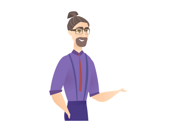 Business Mentor Illustration