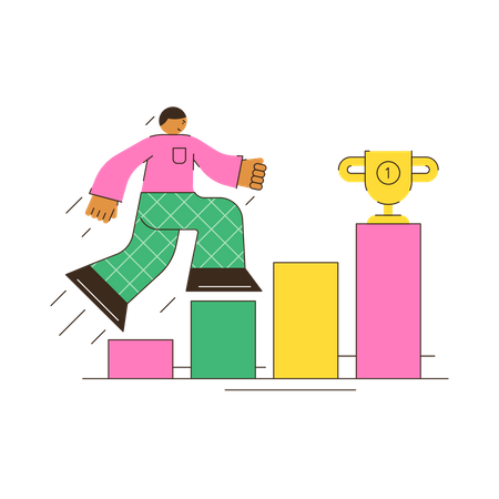 Business Motivation Illustration