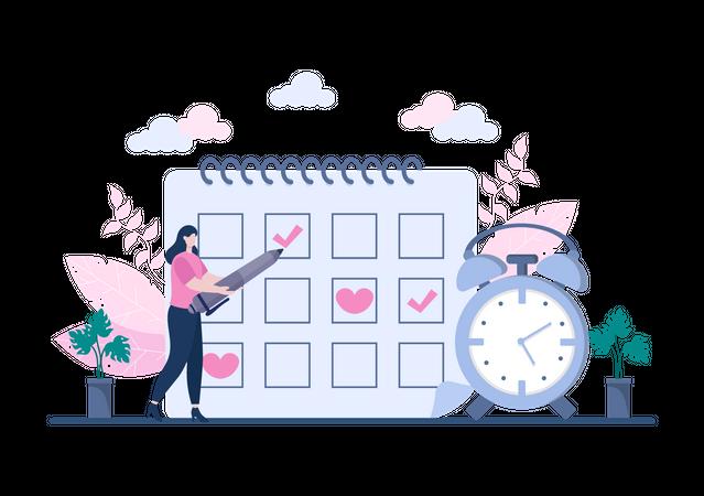 Business Organization Illustration