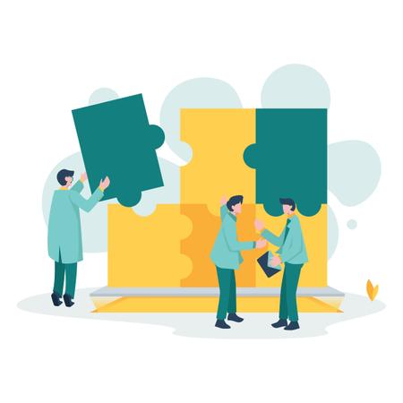 Business Partner Illustration