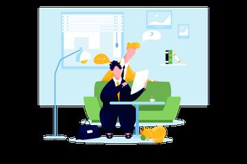 Office Environment Illustration Pack