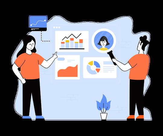 Business Performance Illustration