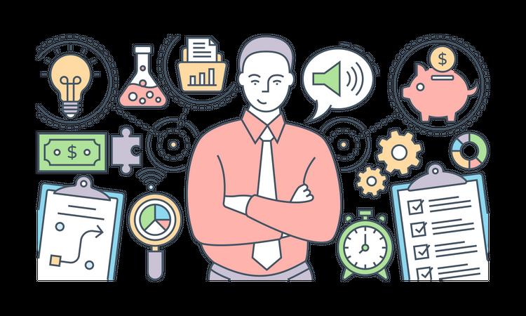 Business Planning Illustration