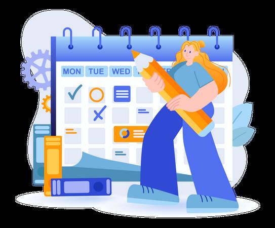 Business Planning Concept Illustration