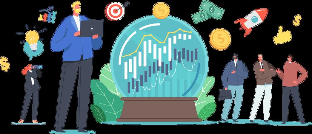 Business Prediction Illustration