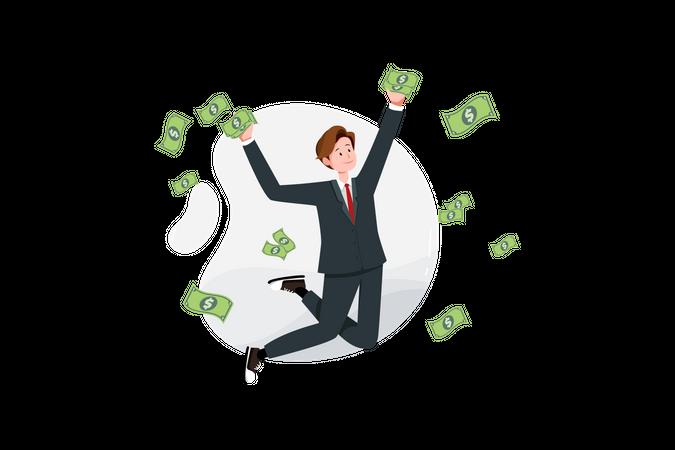 Business Profit money Illustration