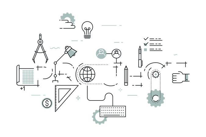 Business Project Illustration