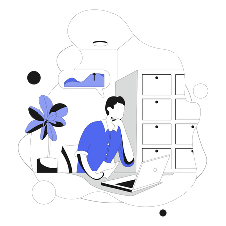 Business Research And Development Illustration