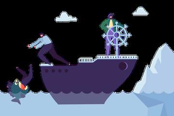 Business Risks Illustration Pack
