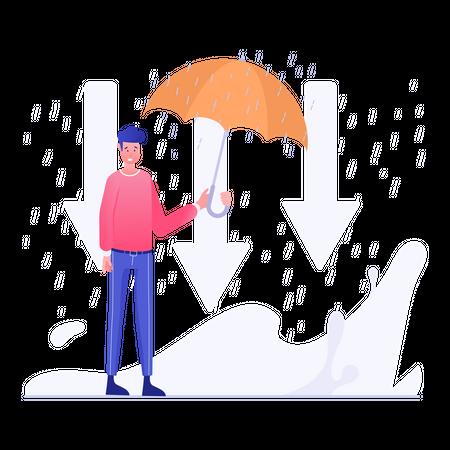 Business securities Illustration