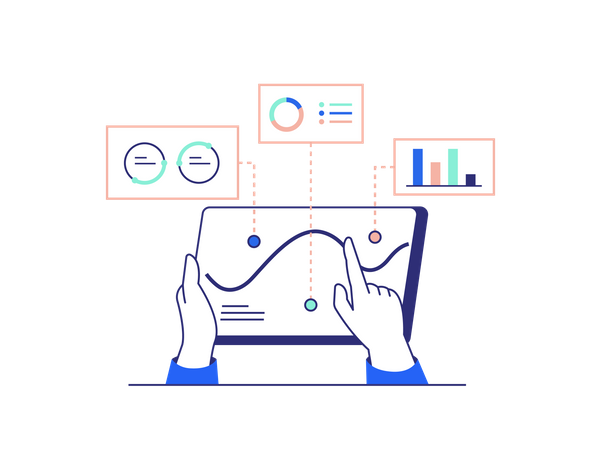 Business Statistics Illustration