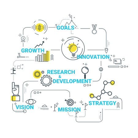 Business Structures Illustration