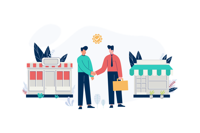 Business to business Illustration