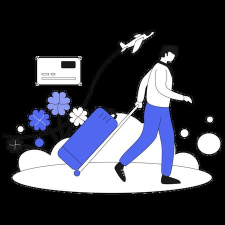 Business Trip Illustration