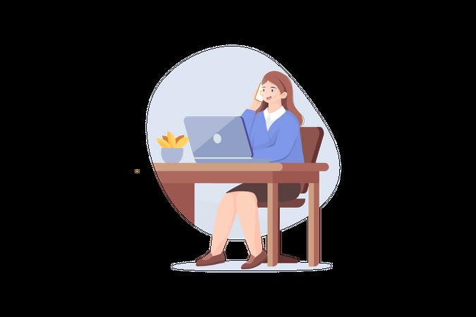 Business women Illustration