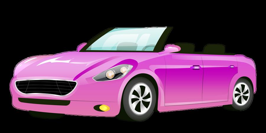 Cabriolet Car Illustration