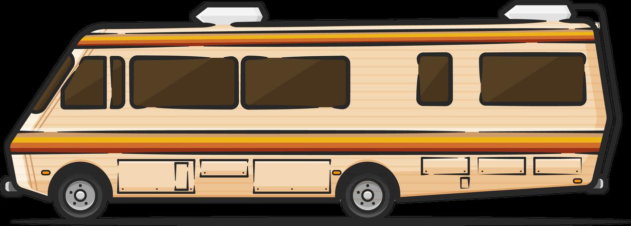 Campervan Illustration
