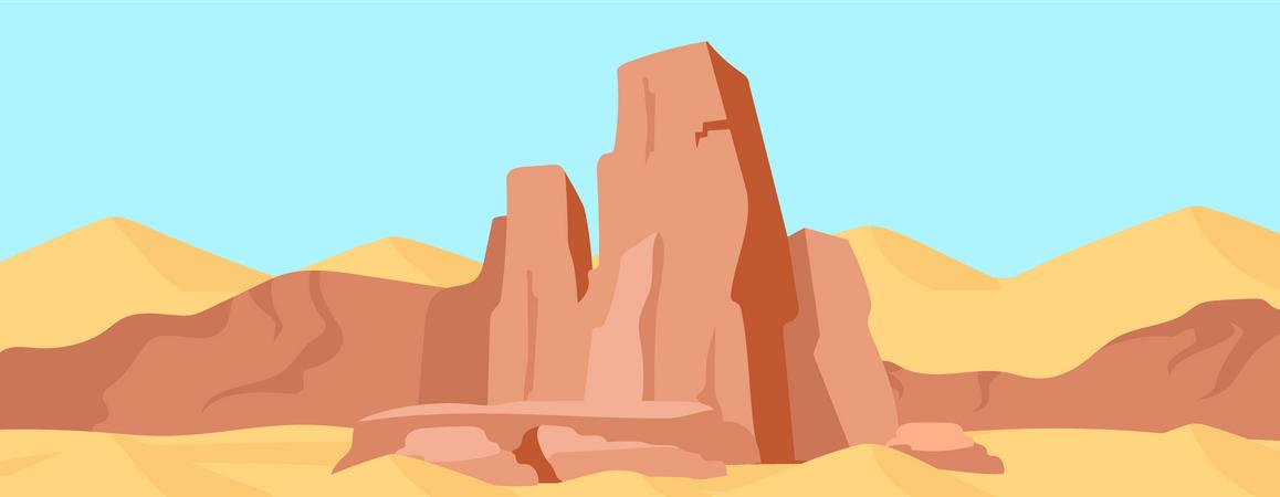 Canyon Illustration