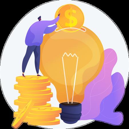 Capital Investment Illustration