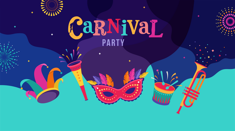 Carnival celebration Illustration