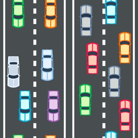 Cars Seamless Pattern Illustration